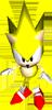 Super Sonic Artwork - Sonic R