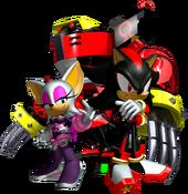 Team Dark Artwork - Sonic Heroes