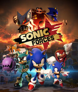 Sonic Forces box artwork-Cover