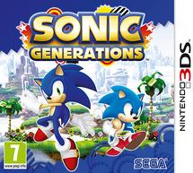 Sonic Generations (3DS) - Boxart EUR