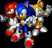Team Sonic Artwork - Sonic Heroes
