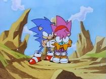 Amy e Sonic Screenshot - Sonic CD