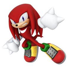 Knuckles Artwork - Sonic Lost World