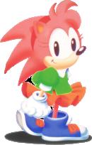Amy Rose Artwork - Sonic CD