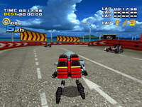 Eggrobo Kart Racing Screenshot - Sonic Adventure 2