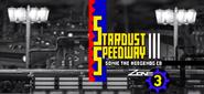 Stardust Speedway Screenshot - Sonic the Hedgehog 4