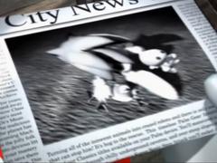 Giornale Screenshot - Sonic Heroes