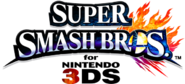 Super Smash Bros. per Nintendo 3DS - Logo EN