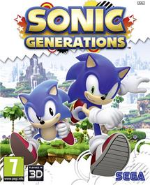 Sonic Generations (Console) - Boxart EUR