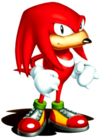 Knuckles the Echidna Artwork - Sonic 3 & Knuckles