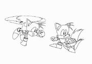 Tails Conceptart - Sonic Jam