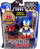 Sonic Classico e Motobug - Action Figure
