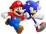 90px-Mario & Sonic Artwork - Mario & Sonic ai Giochi Olimpici di Londra 2012