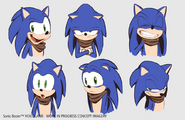 Espressioni Sonic Concept - Sonic Boom