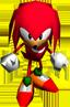 Knuckles2 Artwork - Sonic R