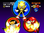 Team Super Sonic Screenshot - Sonic Heroes