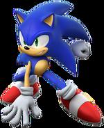 Sonic op de Olympische Spelen