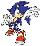 Sonic pose 75