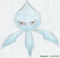 Blauw klein