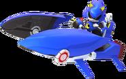 Metal Sonic Racing