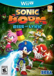 Sonic Boom Rise of Lyric Box Art
