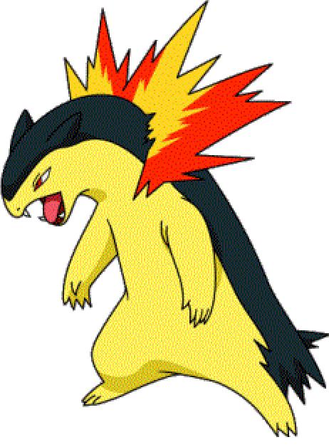 Bayleef Evolution Typhlosion   Sonic Pok...