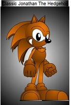 Classic Jonathan The Hedgehog