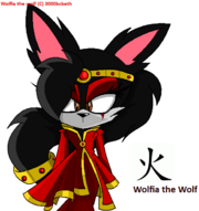Wolfia the wolf new look-elemental society