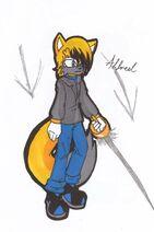 Alfred the fox by 1feellikeamonster-d59oern