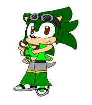 Vazz the hedgehog pic by nicole