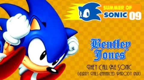 Bentley Jones - They Call Me Sonic (Furry Tails Enhanced Parody Mix) Summer Of Sonic 09