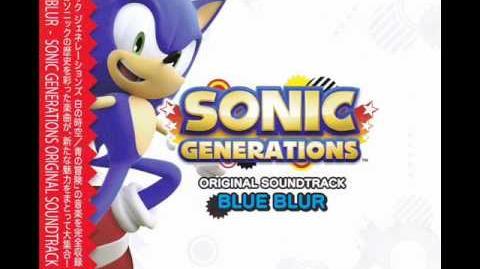 Sonic Generations Blue Blur City Escape Act 1