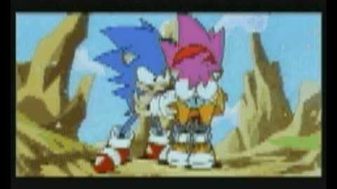 'Cosmic Eternity - Believe in Yourself'. Lyrics to Sonic CD Japan ending