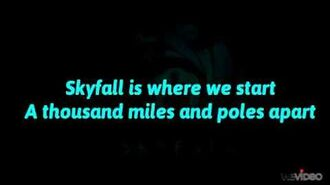 Adele - Skyfall (Lyrics Full)