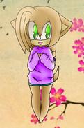 Shy little Kyoko