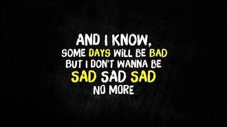Simple Plan - I Don't Wanna Be Sad (Lyrics)