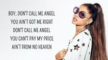 Ariana Grande - Don't Call Me Angel (Lyrics) feat