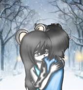 Kai and nyx hug♥
