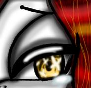 Akuma Eye sad