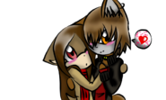 Castiel hugs Lina