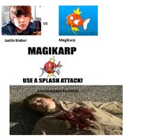 JB vs Magikarp