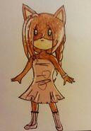 Kyoko mit washi tape Kleid