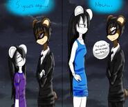 Nyx and Yuri evolution