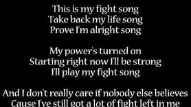 Fight Song - Rachel Platten Lyrics-0