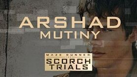Arshad - Mutiny (The Scorch Trials) *NEW MUSIC