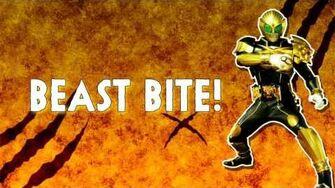 Kamen Rider Beast - BEASTBITE Letra en Español