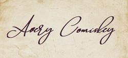 Avery Comiskey - Unterschrift