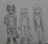 3 full body chibi