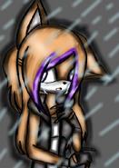 Vicky cry rainy