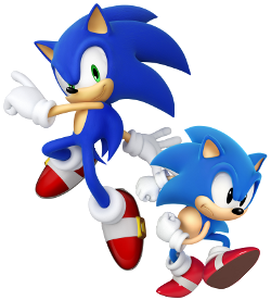 File:Sonic modern and classic designs.png